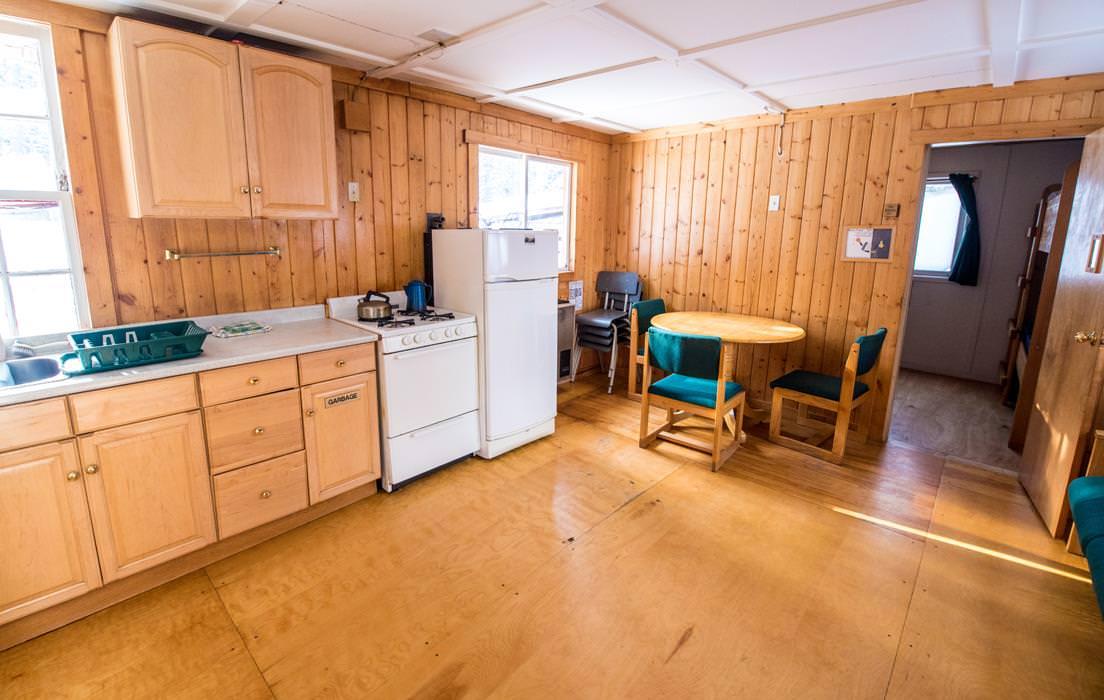 Kitchen In Private Cabin